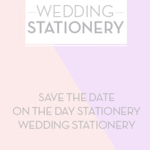 Twindividual - Homepage Button - Wedding Stationery