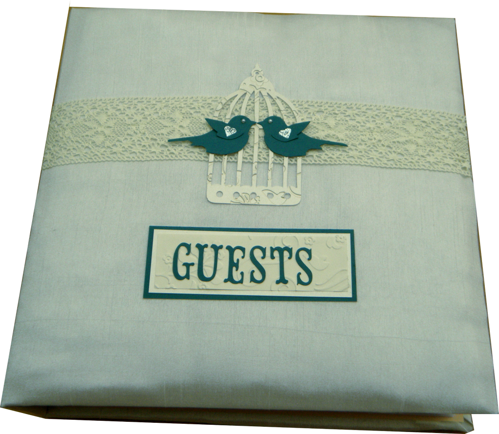 Bespoke Guestbook with tons of space and prompts for Guests to fill in