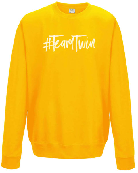 Team Twin Jumper Yellow