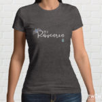 Ravenrin Ladies T Shirt Grey