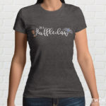 Huffleclaw Grey Ladies T Shirt