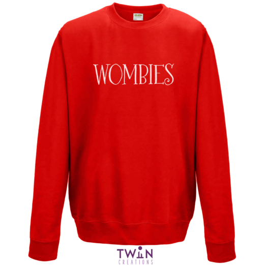 Wombies Red Jumper