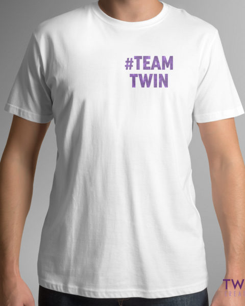 teamtwin bold corner mens white purple